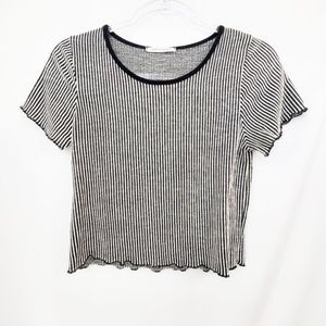 Caution to the Wind Short Sleeve Top NWOT